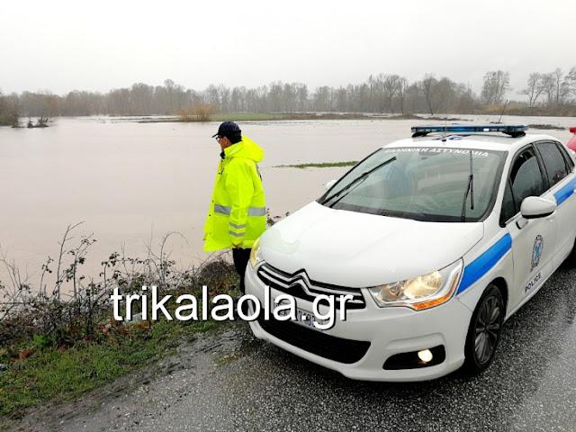 Τρίκαλα-υπερχείλισαν όλα τα ποτάμια-εκατοντάδες στρέμματα πλημμύρισαν-κινδυνεύουν χωριά (βίντεο-28 φωτό)