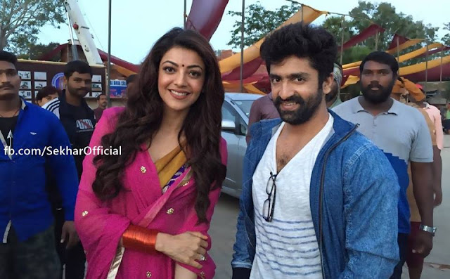 kajal agarwal still at Janatha Garage item song