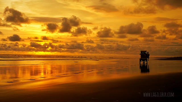 Sunset Parangtritis Bantul