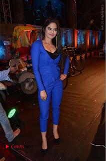Actress Naina Ganguly Stills in Blue Dress at RGV Shiva to Vangaveeti Event  0046.JPG