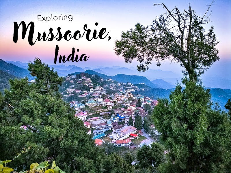 Mussoorie Hill Station, India