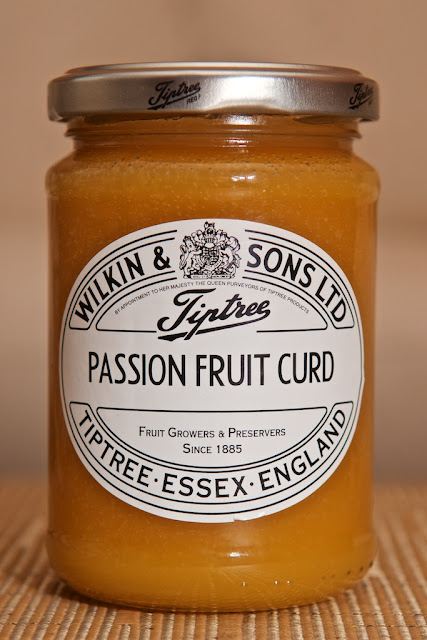 Wilkins & Sons Passion Fruit Curd (312g) par Tiptree - Tiptree - Fruits de la passion - Dessert - Food - Fruit spread - Exotique - Exotic - Fruit curd - Crème au fruit de la passion - Angleterre - England