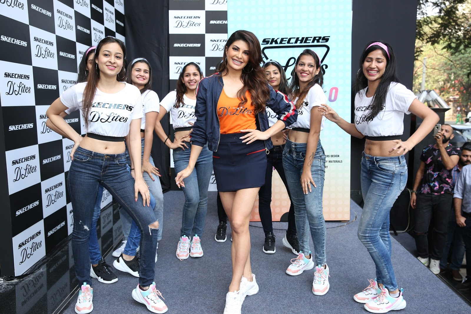 """ecef8bb9ee Skechers, An American performance and lifestyle footwear brand announces a new  range of sneakers """"Skechers D'Lites"""" in India. The announcement was made in  ..."""