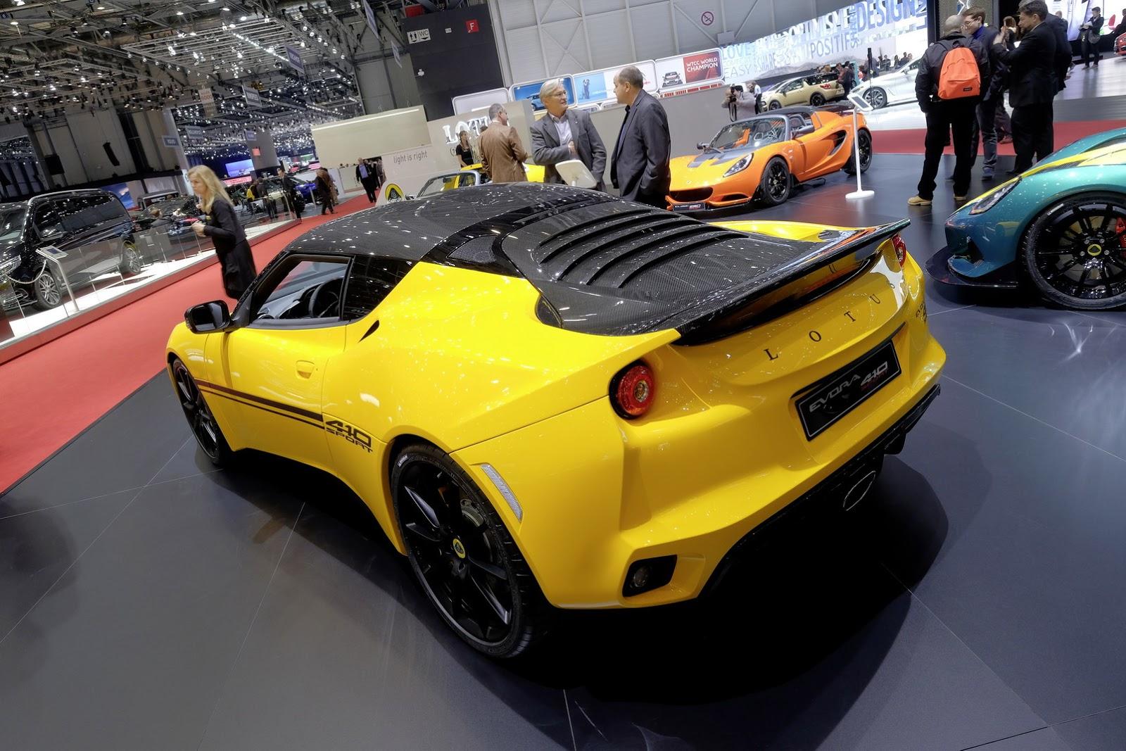 Lotus Evora Sport 410 2017 lần đầu tiên xuất hiện trước công chúng
