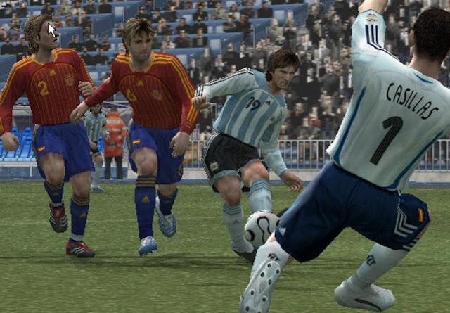 تحميل لعبة Pro Evolution Soccer 6 بحجم صغير كامله رابط واحد مباشر
