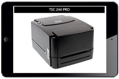 Printer barcode TSC 244 pro