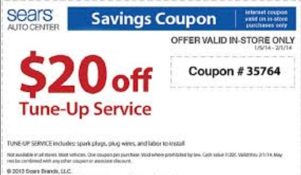 sears coupons 2018