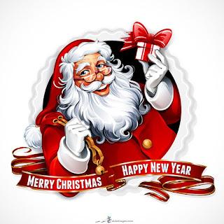 تهنئة السنة الجديدة 2021 بابا نويل