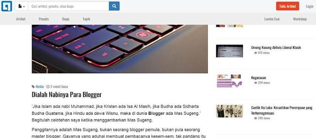 Janganlah Mendewakan Seseorang Kalau Mau Tetap Jadi Blogger Yang Waras