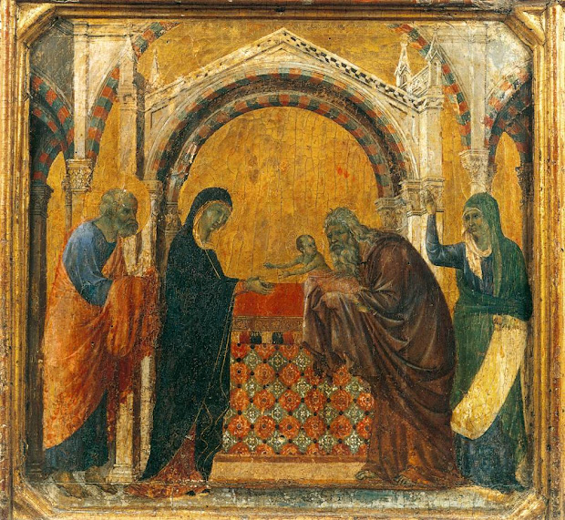 Presentation in the Temple by Giotto