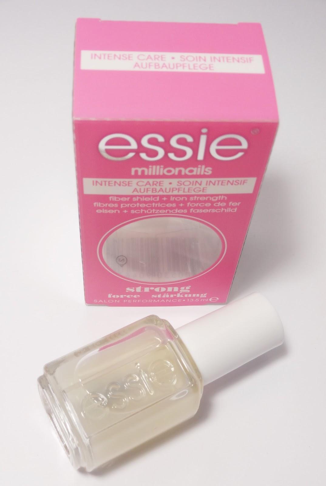 Review: ESSIE - Millionails (Aufbaupflege für starke Nägel)