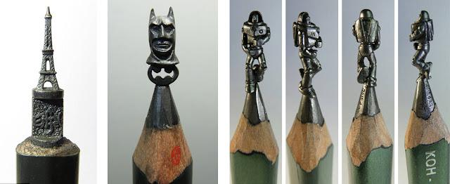 Эйфелевая башня, Бэтмэн и История игрушек в миниатюрных скульптурах тайского инженера Чжен Чю Ли (Chien Chu Lee) - DayDreamer Blog