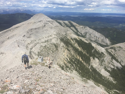 Moose Mountain north ridge
