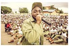 Corps members seat on the floor while Davido addresses them (Photos)