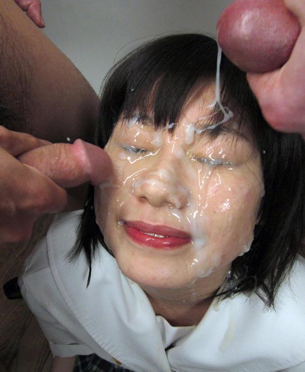 Asian cum filled cunt