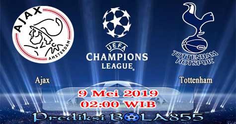 Prediksi Bola855 Ajax vs Tottenham 9 Mei 2019
