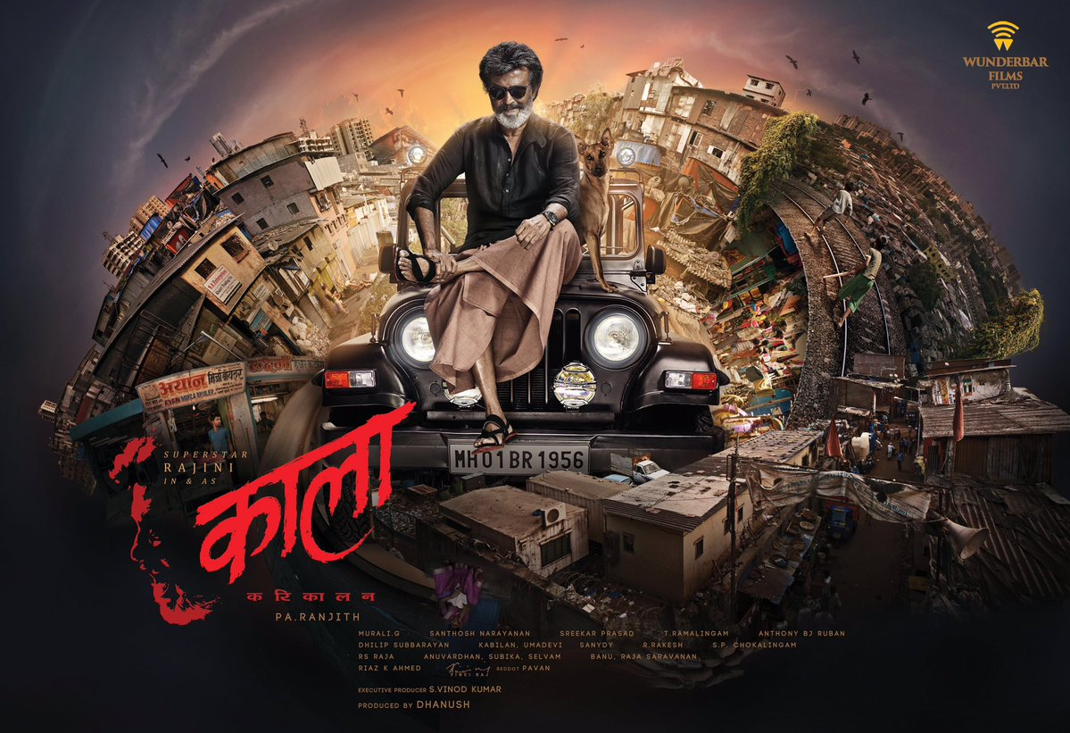 Rajinikanth's Kaala Movie Official Posters