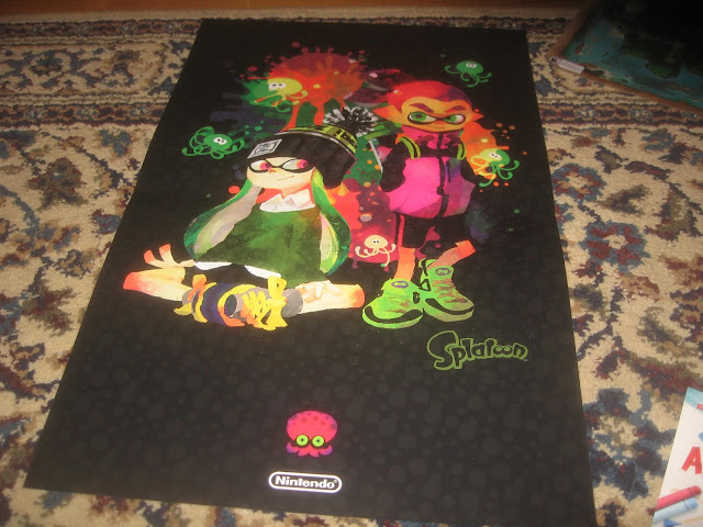 Splatoon poster Best Buy