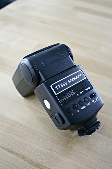 Neewer Speedlite TT560 for bright, clear photos