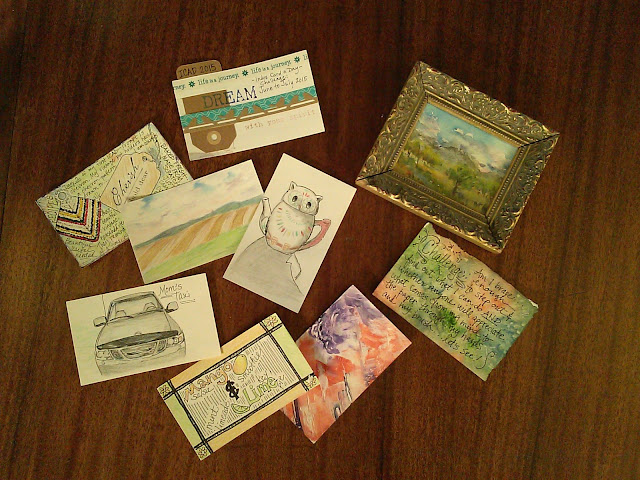 ICAD 2015 Index Card A Day Christy Sheeler artist