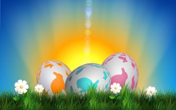 Wallpaper: Easter Decoration