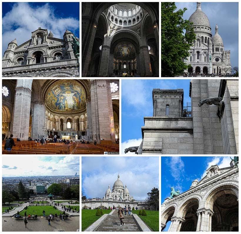 Sacre Coeur - Diário de Bordo - 3 dias em Paris