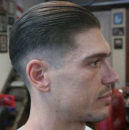 nama model potongan rambut pria