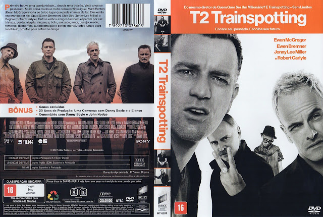 Capa DVD T2 Trainspotting