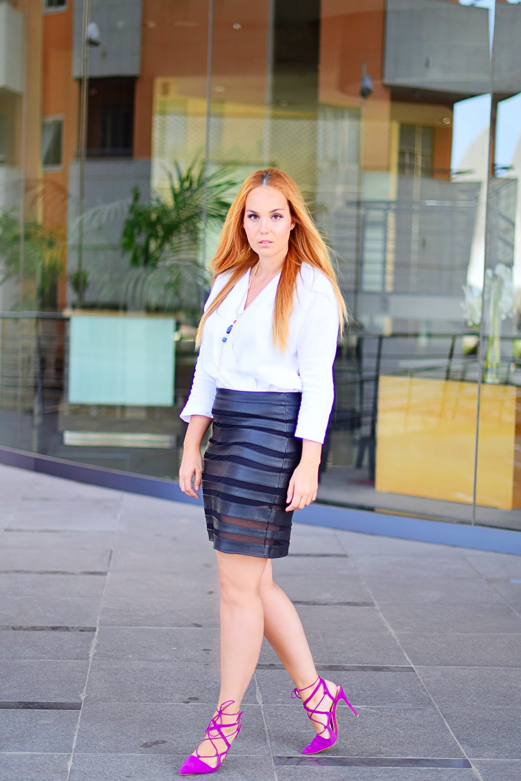 nery hdez, aliexpress, nephra, lace up sandals, buganvilla sandals, wear to work look,