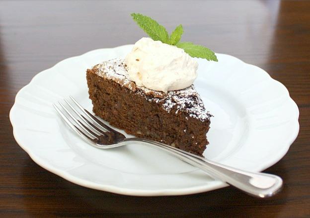 chocolate ancho cake