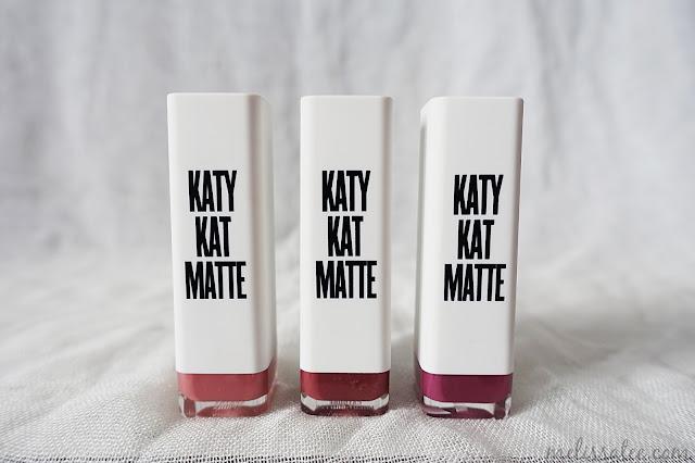 covergirl, covergirl katy kat matte lipsticks, covergirl katy perry, covergirl katy kat lipsticks, covergirl katy kat matte lipsticks review, katy kat matte lipsticks review and swatches, katy perry lipsticks, katy perry matte lipsticks, katy kat matte lipstick in kitty purry swatch, katy kat matte lipstick in catoure swatch, katy kat matte lipstick in sphynx swatch, sphynx lipstick, catoure lipstick, kitty purry lipstick