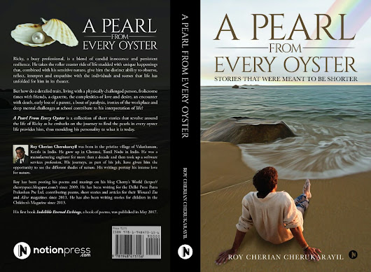 RELEASE OF MY SECOND BOOK: A PEARL FROM EVERY OYSTER