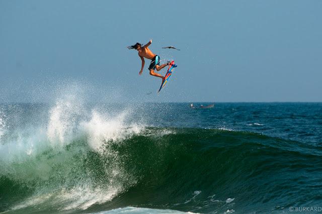 Surfing Aerial