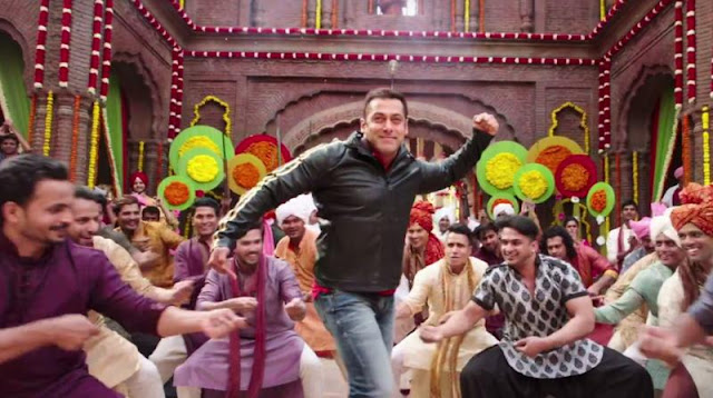 Dancing Salman Khan in song Baby ko bass pasand hai, from Sultan movie
