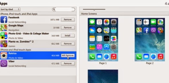 How to delete apps from iphone iphonphone you can also delete iphone apps from the top right under home screens option ccuart Images