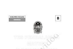 Soal dan Kunci Jawaban TPMBK Kota Yogyakarta 2018 Tahap 1 Matematika
