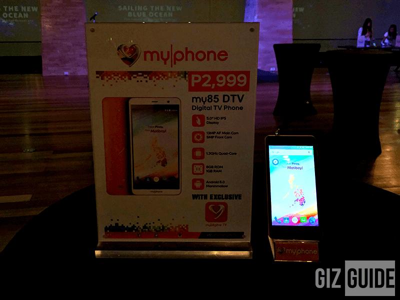 MyPhone My85 DTV