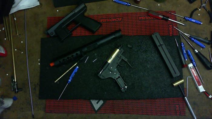 Echo1 GAT AEG, New Airsoft Prototypes, Airsoft TEC-9, Airsoft TEC9, Intratec TEC-DC9, Interdynamic KG-9, Airsoft Assault Pistol, Airsoft Submachine Gun, Airsoft Submachine Pistol, Pyramyd Airsoft Blog, Tom Harris Airsoft