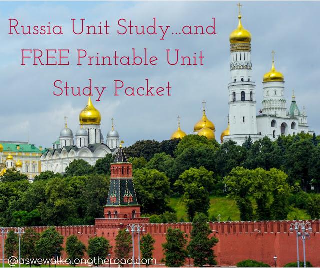 Russia Unit Study
