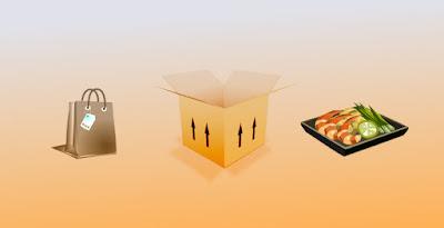 Livraison rapide de courses et repas à domicile