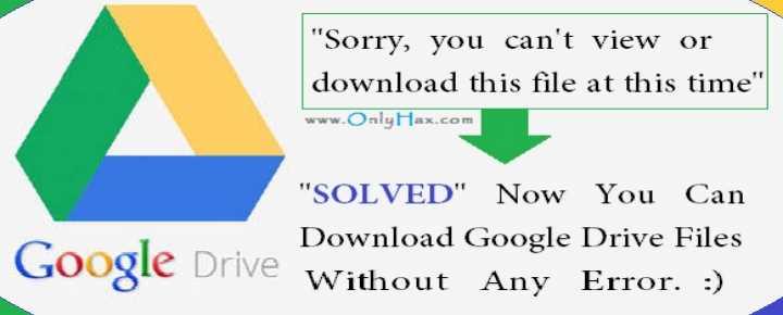 Google Drive Quota Exceeded Error Fix Solved