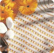 """Camino de Mesa """"Cálices Enfrentados"""" a Crochet"""