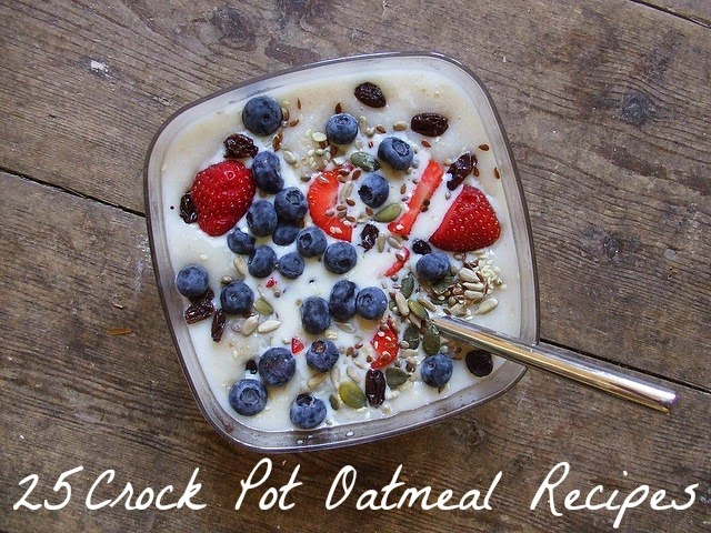 Healthy Crock Pot Oatmeal Recipes | Becky Cooks Lightly