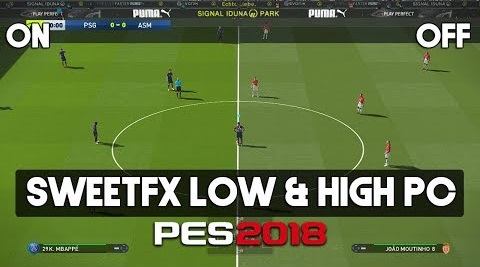 PES 2018 Sweet Fix For Low & High PC By PC-Professional Team