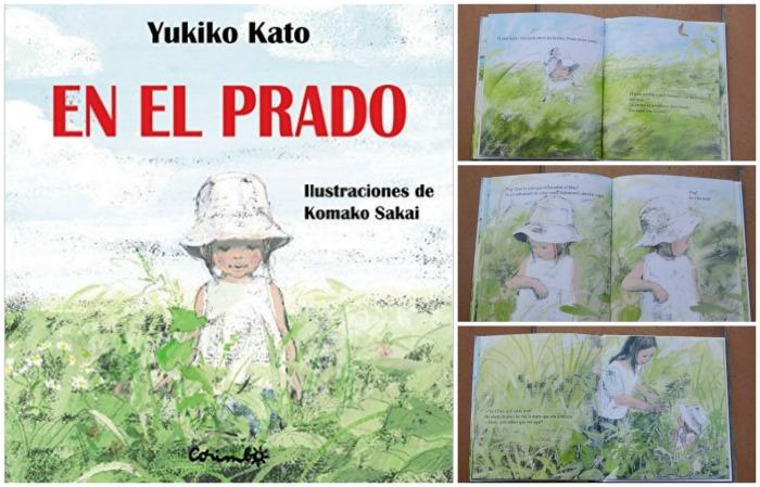 cuentos infantiles crianza respetuosa, con apego en el prado yukiko kato