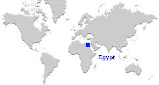 image: Egypt map location