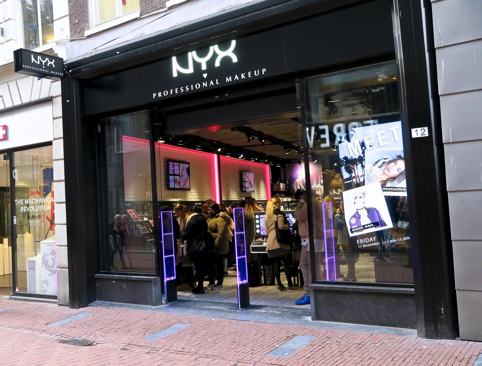 NYX Cosmetics Amsterdam