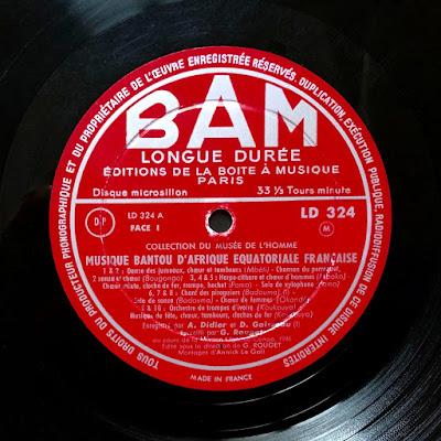 #Congo #Gabon # Bantu #Bantou #African music #world music #vinyl #ritual #magic #possession #musique africaine