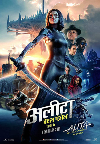 Alita Battle Angel 2019 Dual Audio ORG Hindi BluRay 480p 400MB ESubs poster