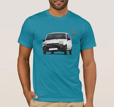 Renault 5 t-paita t-tröja t-shirt